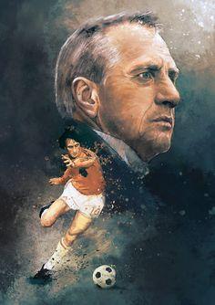 Johan Cruyff by IgnacioRC.deviantart.com on @DeviantArt