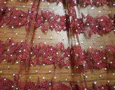 glitter lace fabric