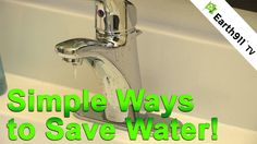 #SmallSteps: Painless Ways To Save Water