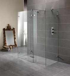 Trendy Glass Door Curtains Diy Walk In Shower Shower Enclosure, Shower Stall, Walk In Shower, Glass Door Curtains, Luxury Shower, Diy Curtains, Door Curtains Diy, Walk In Shower Enclosures, Shower Tile Designs
