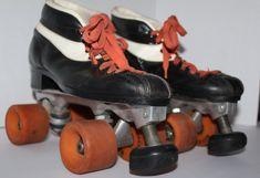 Roller Skates Vintage 1960s Zinger Wheels Roller DerbySpeed Skate Lowered Toe Stop Men's SZ 7