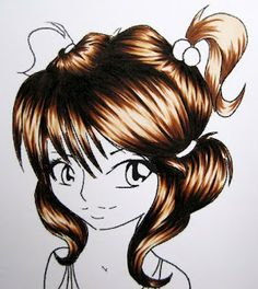 Sarham´s little corner: Hair tutorial with Copics (PICTURE HEAVY!)