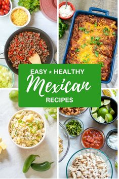 Easy and Healthy Mex