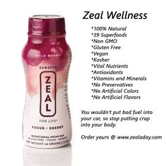 No one else is going to look out for your health. It's up to you. Let Zeal Wellness help.