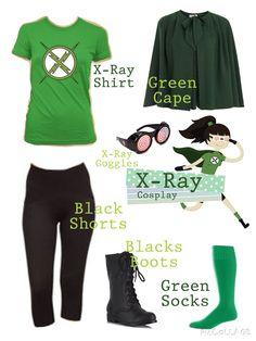 XRay Cosplay Plan