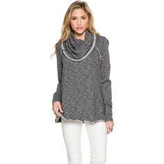 FREE PEOPLE COCOON COWL SWEATER