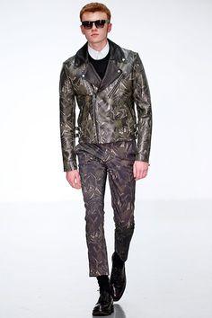A. SAUVAGE Spring 2015   Men's London Fashion Week