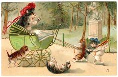 Maurice Boulanger Cats