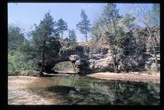 Natural Bridge @ Clifty Creek - Maries County, Missouri