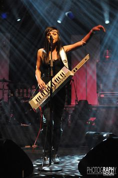 Lights performing