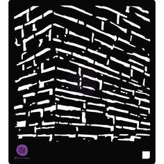 The Wall Stencil - Prima