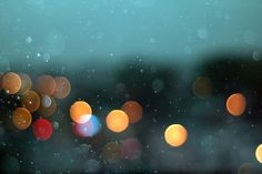 Works collected for the Rain II Gallery on FLICKR( rain over street lights by silent shot)