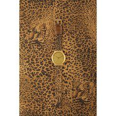 Komono Leopard Wizard Print Watch