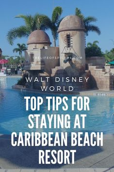 Check out this post for Disney's Caribbean Beach resort tips to help you get the most out of your stay. Caribbean Beach resort is a moderate Disney hotel. Caribbean Beach Resort, Beach Club Resort, Beach Resorts, Beach Vacations, Beach Hotels, Beach Travel, Disney Resort Hotels, Walt Disney World Vacations, Disney Travel