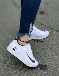 Source by tennis shoes - Source by tennis shoes - White Nike Shoes, Nike Air Shoes, Adidas Shoes Women, White Shoes Outfit, Nike Air Max, Cute Sneakers, Sneakers Mode, Air Max Sneakers, Nike Fashion