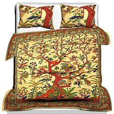 100% Cotton Comforter Bedding Sets Duvet Covers Indian Handmade Mandala Doona  #Handmade #Traditional Mandala Duvet Cover, Mandala Tapestry, Bed Covers, Pillow Covers, Bohemian Bedding Sets, Indian Bedding, Double Duvet, Cotton Bedding Sets