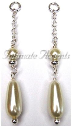 Arabesque Fashion Dangles - Pearl - detachable Arabesque, Dangles, Drop Earrings, Pearls, Personalized Items, Cool Stuff, Jewelry, Products, Fashion