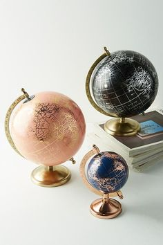For the traveler in your life, make sure to gift them with one of these awesome globes from Anthropologie for this holiday season.  **Affiliate link**