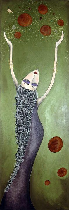 untitled by Sharon Peterkin...Artist from Perth Western Australia