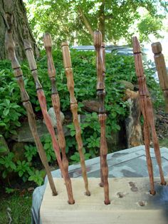 Harry Potter Wands (so adorable). @OrchardWorks.