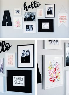 Create the prefect Gallery Wall with Minted.com Art!   landeelu.com