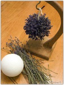 Lavender pomander ornament