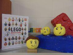Lego Minifigure Heads - Book Character Pumpkins (Pumpkin Painting 2014)