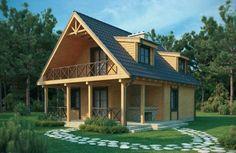 60 mejores im genes de casas canadienses cottage home decor y diy ideas for home - Casas de madera y mas com ...