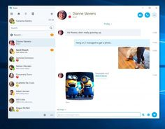 Microsoft Backing Down and Releasing Universal Windows Platform Skype App: After splitting the service into three separate apps last year,…