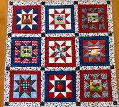 Americana table topper patriotic table topper red white blue