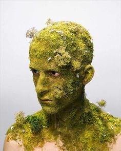 Levi van Veluw · Landscape I | Self Portrait · 2008