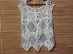 jeans + crochet by La_no4ka