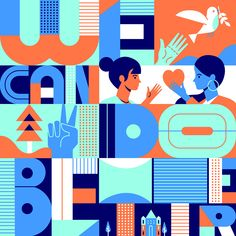 Adobe conference on behance illustration inspiration in 2019 плакат, ве Graphic Design Branding, Graphic Designers, Packaging Design, Diy Entertainment Center, Design Graphique, Layout, Mural Art, Geometric Art, Graphic Illustration
