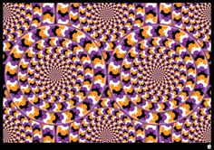 op art with movement illusion Optical Illusions Pictures, Eye Illusions, Illusion Pictures, Trippy Visuals, Eye Tricks, The Doors Of Perception, Art Optical, Kinetic Art, Magic Eyes