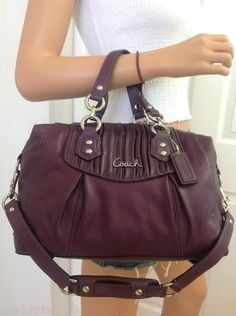 Need this bag for fall Coach Bags Outlet, Cheap Coach Bags, Coach Handbags, Coach Purses, Purses And Bags, Brown Coach Purse, Bags 2015, Handbag Stores, Popular Bags