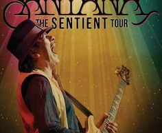 #Santana in concerto in Italia a luglio con tre date del Sentient Tour 2013