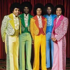 My oh my! What colorful suits