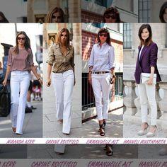 Leia aqui!: http://imaginariodamulher.com.br/look/?go=2l7FYD7  10 Looks com calça branca e onde Encontrar #achadinhos #modafeminina #modafashion #tendencia #modaonline #moda #instamoda #lookfashion #blogdemoda #imaginariodamulher