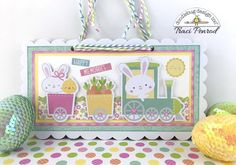 Happy Wednesday Doodlebug friends! It's Traci, and I'm back to share a new mini with you. I'm super excited about the Easter Express colle...