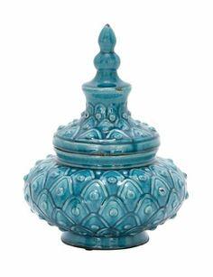 """Ceramic Jar 15""""h, 11""""w . $84.75. Ceramic Jar 15""""h, 11""""w"""