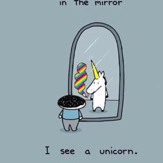 I see a bad ass Unicorn who don't take no shit from nobody. Evil Unicorn, One More Chance, Narwhals, Look In The Mirror, Fitness Inspiration, Confident, Stupid, Badass, Imagination