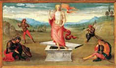 'The Resurrection' by Perugino