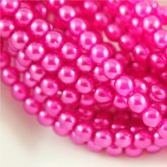 4mm Round Pearl Lights Dark PinkQty 50 CZ by SuppliedByLightness, $2.69 Jewelry Making Supplies, Light In The Dark, 50th, My Etsy Shop, Lights, Pearls, Pink, Lighting, Beading