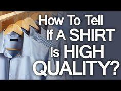 Buying High Quality Dress Shirt   5 Tips On How To Buy Well Made Shirts - High End Shirting (via @antoniocenteno)