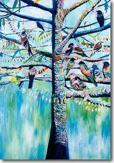 SkylineArtEditions.com - Pigeon Tree, $25.00 (http://www.skylinearteditions.com/pigeon-tree/)