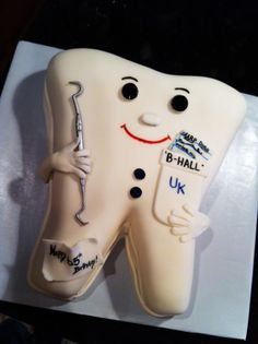 Tooth cake..