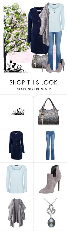 """""""Specks"""" by april-wilson-nolen ❤ liked on Polyvore featuring M.i.h Jeans, Jaeger, Kendall + Kylie and Miadora"""