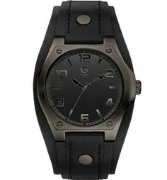 4bea71e3e2bf G by GUESS Mens Cuff with Strap Watch    Check out this great product.