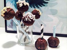 Cake pops på svarta bönor