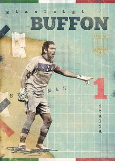 The Gods Of Football (Part II) by Marija Marković, via Behance
